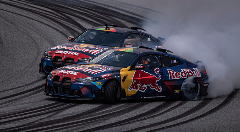 BMW Red Bull Driftbrothers M4 Competition