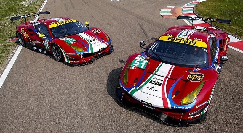 AF Corse y Ferrari