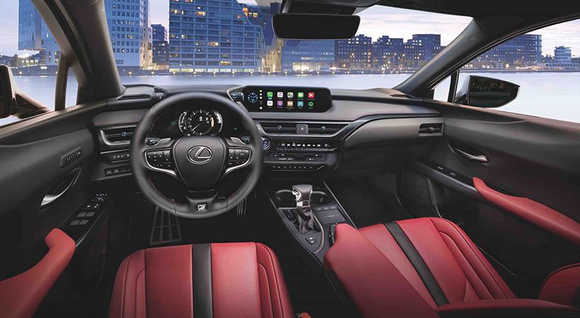 Lexus UX 200 F Sport 2021