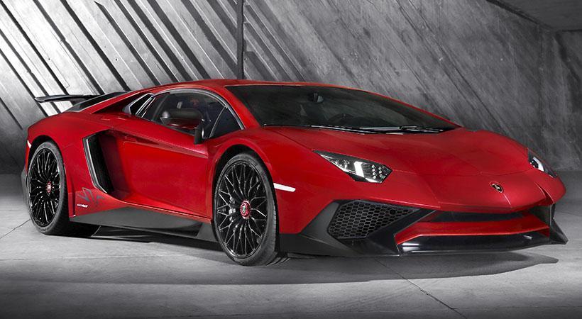 Lamborghini Aventador 10 innovaciones
