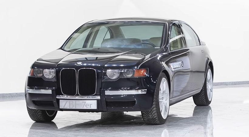 BMW Serie 7 Prototipo