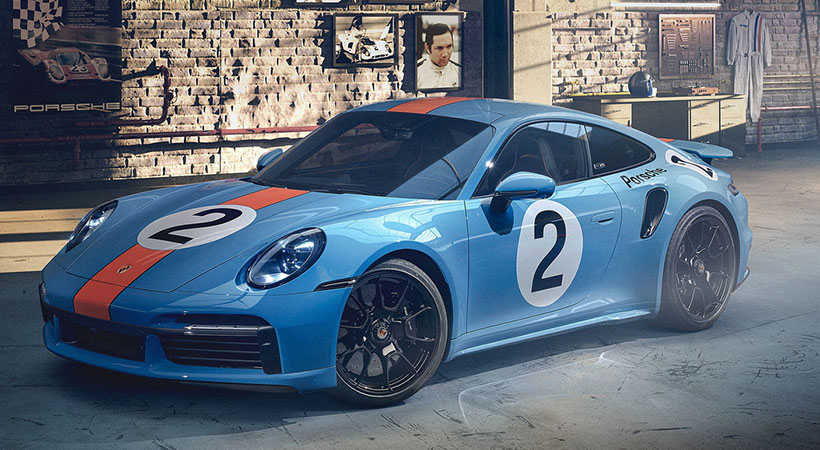 Porsche 911 Turbo S One Off