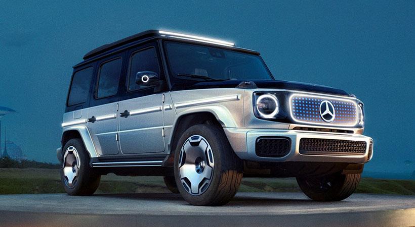 Mercedes-Benz EQG Concept