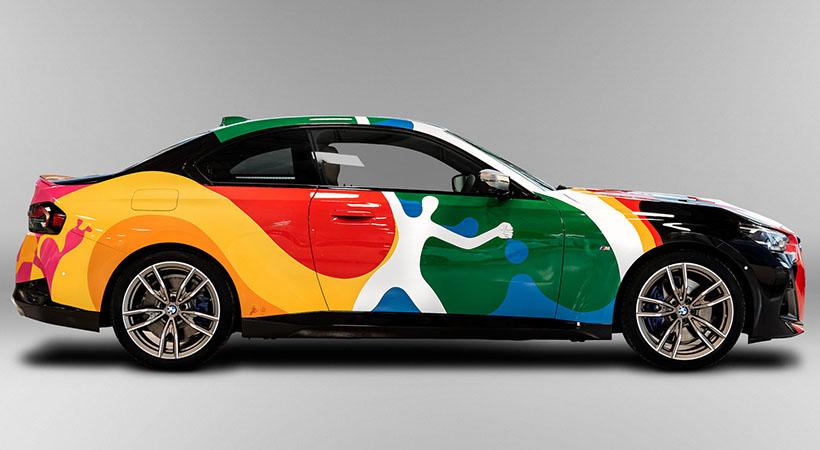 BMW M240i Art Car Mexico