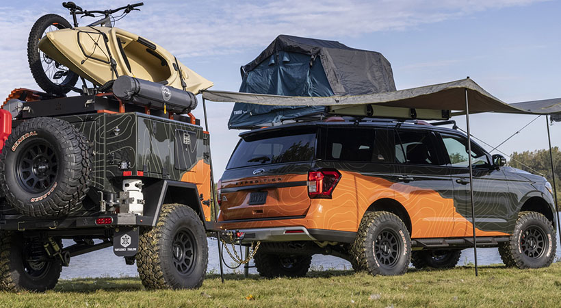 Ford Expedition Timberline Off-Grid Concept